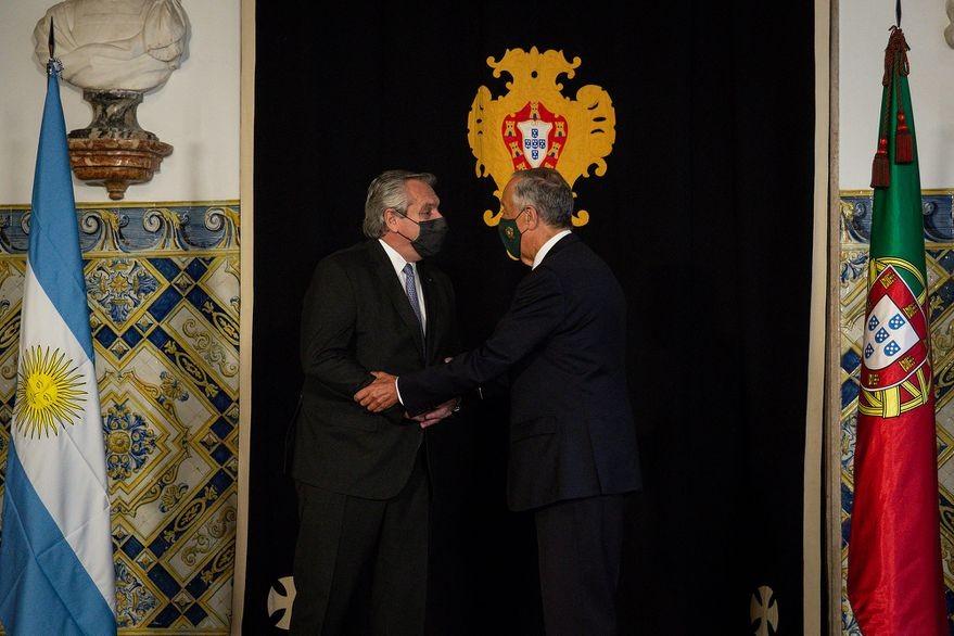 Fernández se reúne con el primer ministro portugués