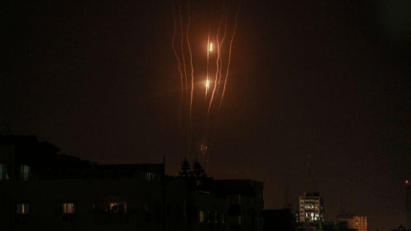 Hamas lanzó una ráfaga de misiles contra Israel