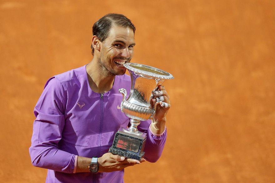 Rafael Nadal venció a Novak Djokovic
