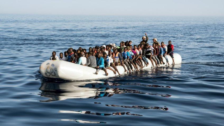 Más de 50 desaparecidos tras un naufragio en el Mar Mediterráneo