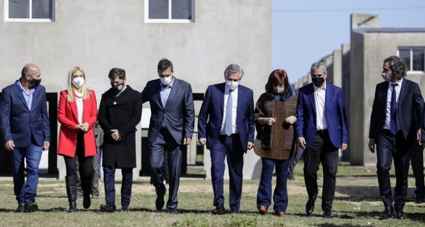 Lo que no se vio del acto de Alberto Fernández y Cristina Kirchner