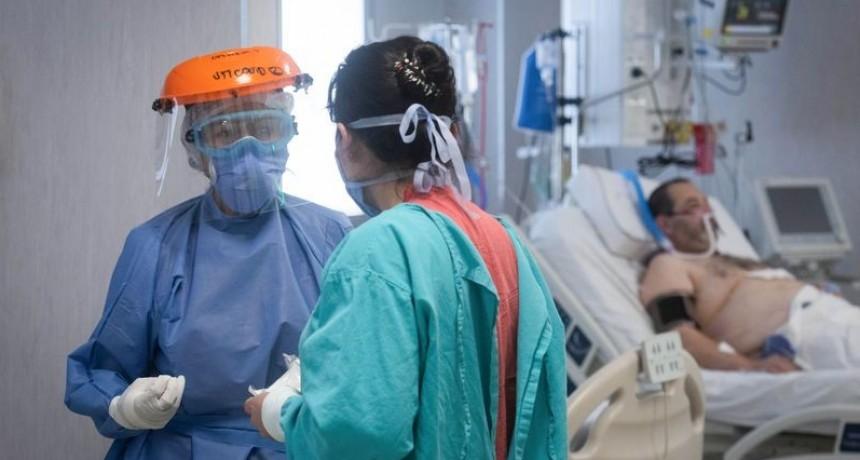 Argentina registró16.350 nuevos casos y 270 muertes de Covid-19