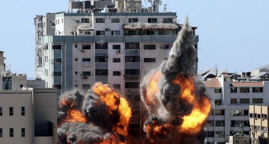 Inicia la semana con màs bombas de Israel a Gaza