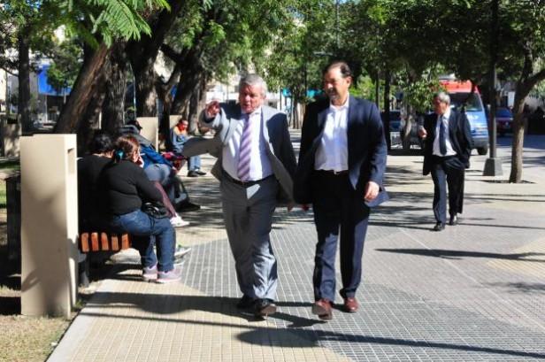 Isa se reunió con el intendente Infante, de Santiago del Estero