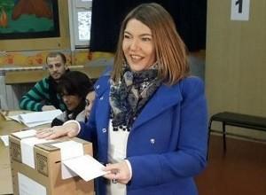 Rosana Bertone gano  la gobernación