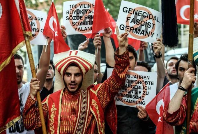El genocidio armenio:Turquía  reaccionó con furor contra Berlín