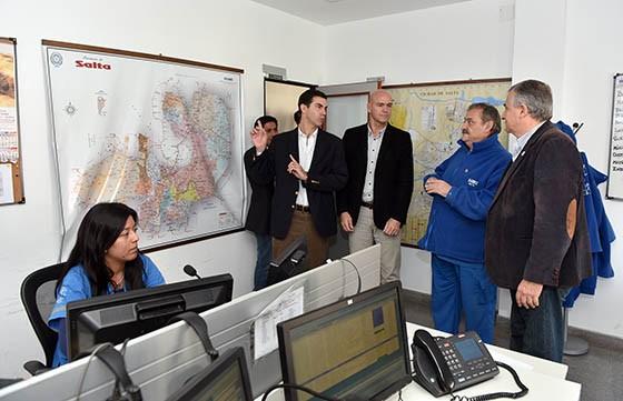 Morales recoro el Centro de Coordinación Operativa y la Unidad de Análisis Criminal