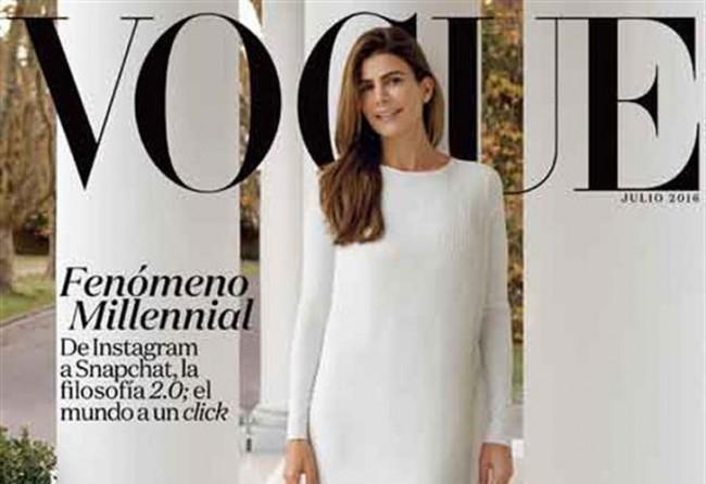 Vogue vuelve a atener otra tapa con la Primera Dama
