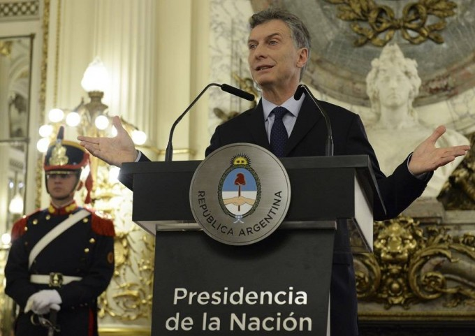 Macri:Creemos que esto está funcionando