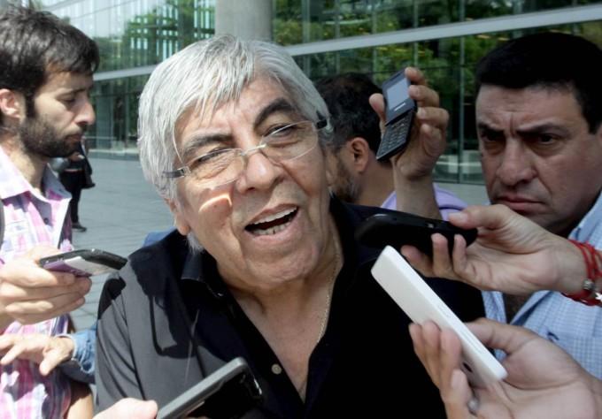 Moyano desconoce la pauta salarial del Gobierno y exige un aumento de 32%