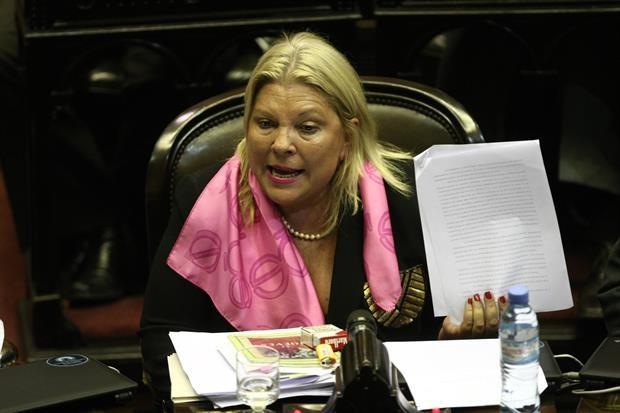 Carrió para hacer campaña renunciará a la Comisión de Relaciones Exteriores en Diputados