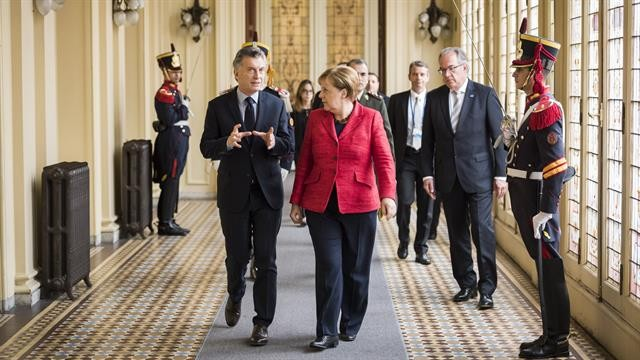 Macri y Merkel destacaron la importancia de la relación bilateral