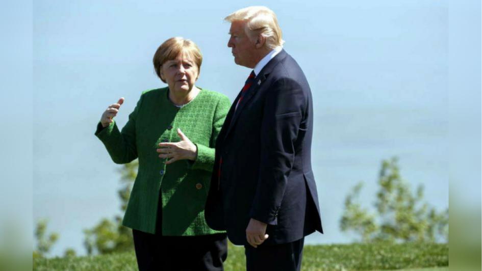 G7: todos en pie de guerra contra Trump