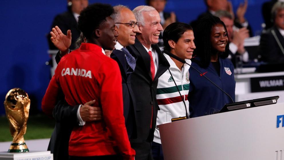 México junto a Canadá y EE.UU. organizarán el Mundial de 2026
