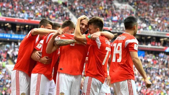 Mundial 2018 :Rusia 5 a 0 ante Arabia Saudí