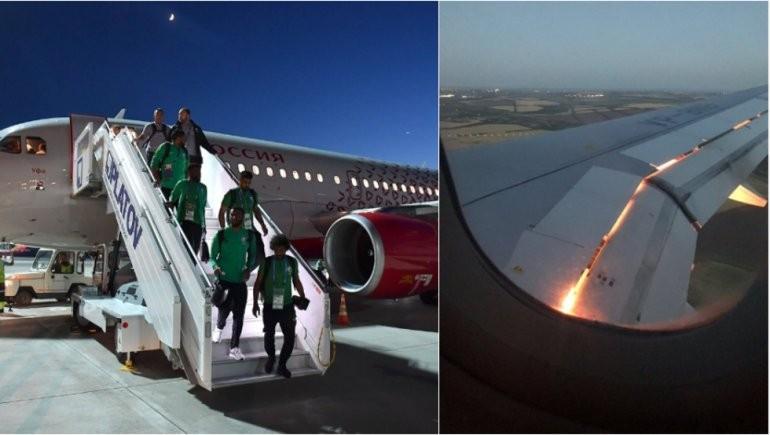 En pleno vuelo se prendió fuego avión de Arabia Saudita