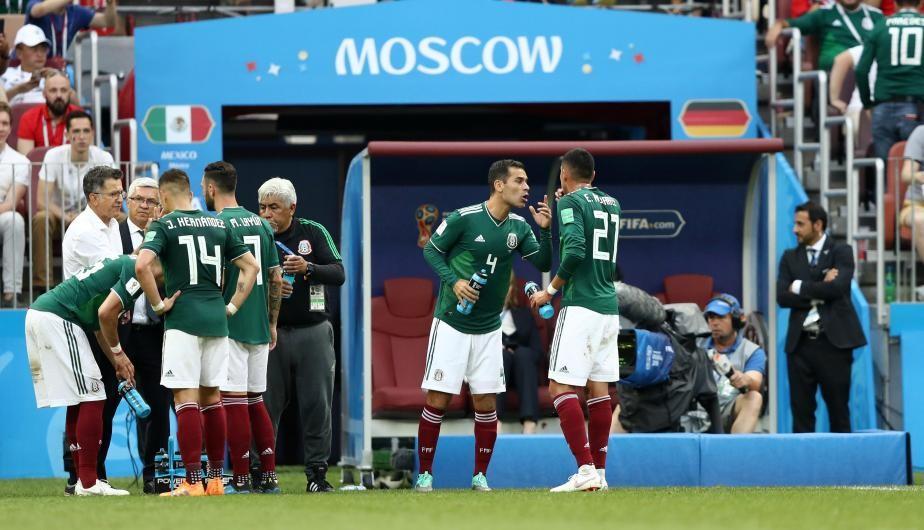 México venció a Corea del Sur por el Grupo F