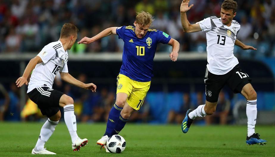 Alemania 1-1 Suecia por el Mundial Rusia 2018