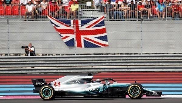 F1: Hamilton ganó el GP de Francia y es el nuevo líder
