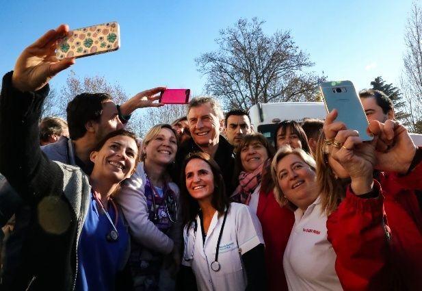 Macri cuestionó a los sindicalistas No contribuyen a nada, no suman