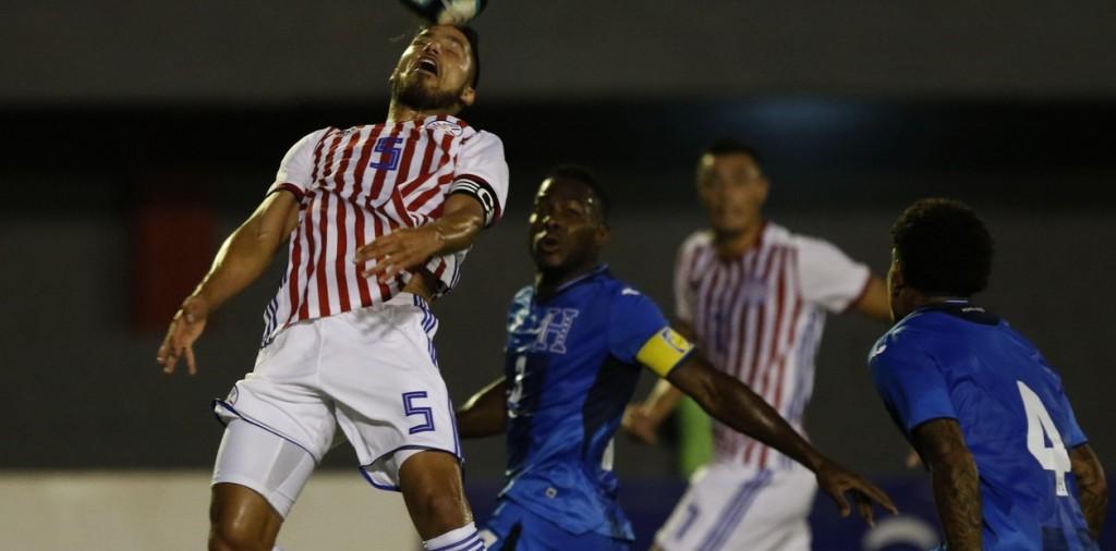 Paraguay empató con Honduras en un amistoso