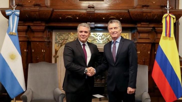 El Presidente Mauricio recibió a