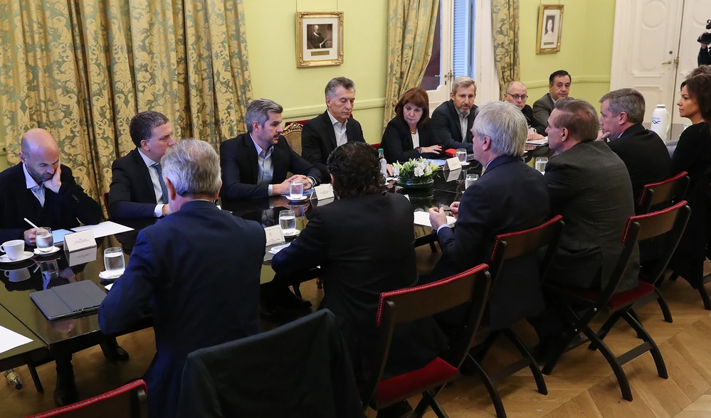 Pichetto integro la reunión de Gabinete Nacional