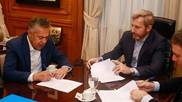 Nación traspasará u$s 1.023 millones a Mendoza