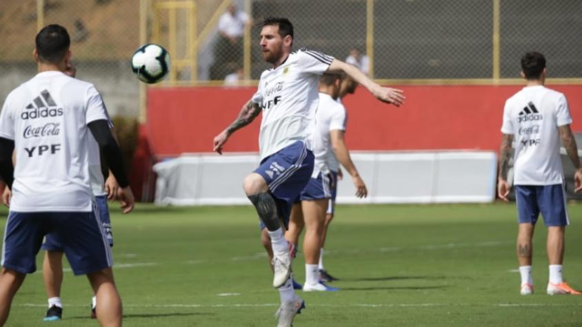 Argentina inicia una nueva ilusión en la Copa América