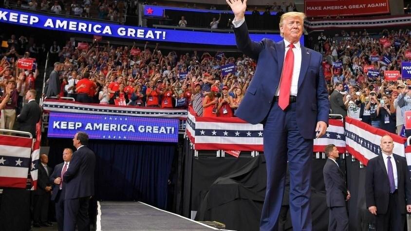 Trump se lanzó a la reelección presidencial en EEUU