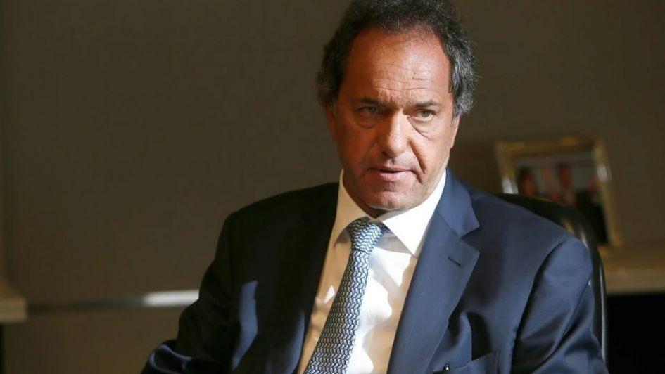 Daniel Scioli se bajó de la carrera presidencial