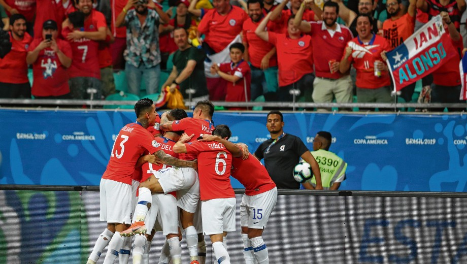 Chile se impuso ante Ecuador Copa América 2019