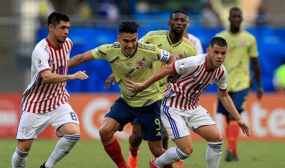Colombia gana y lo complica a Paraguay