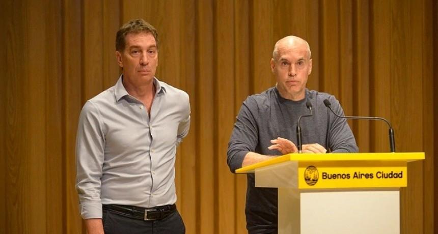 Rodríguez Larreta se lanza con Santilli