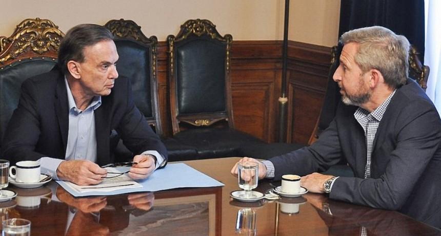 Miguel Ángel Pichetto saldrá de campaña con Rogelio Frigerio