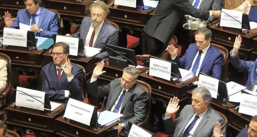 Senadores PJ incorporan a dos legisladores