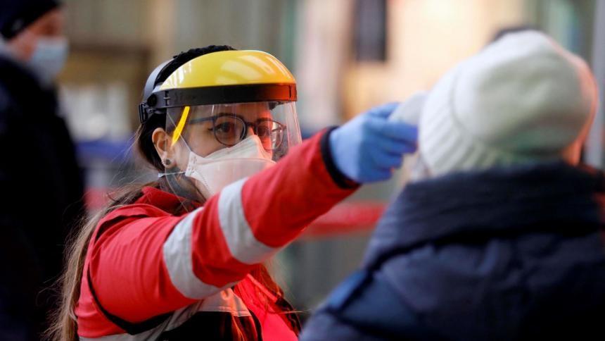 Argentina marcó un récord  de contagios de coronavirus