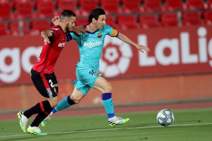 Messi se lucio ante Mallorca