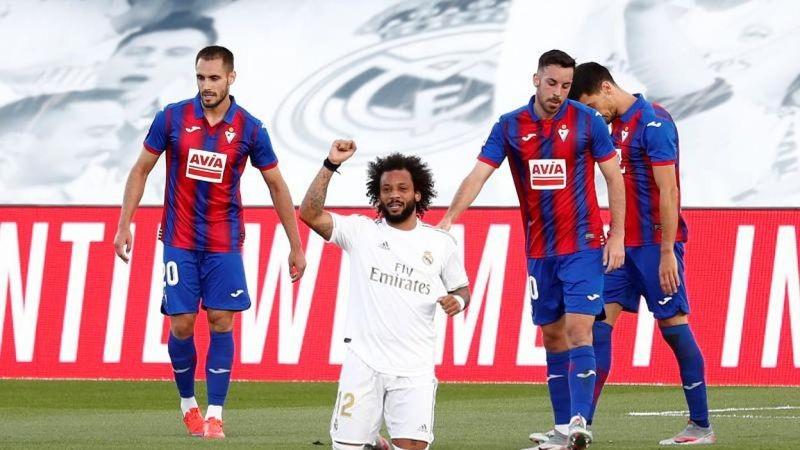 Real Madrid volvió con todo y goleó