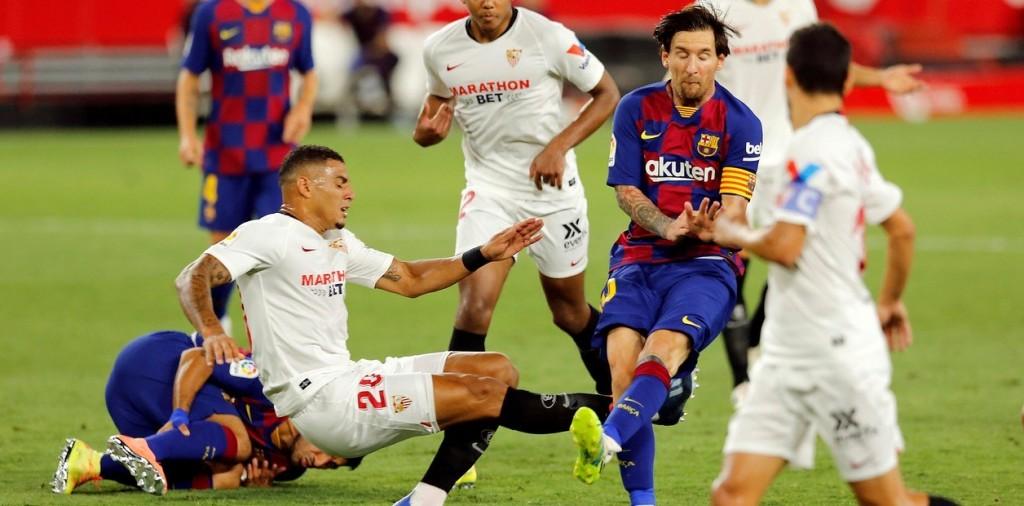 Sevilla y Barcelona en un gran empate