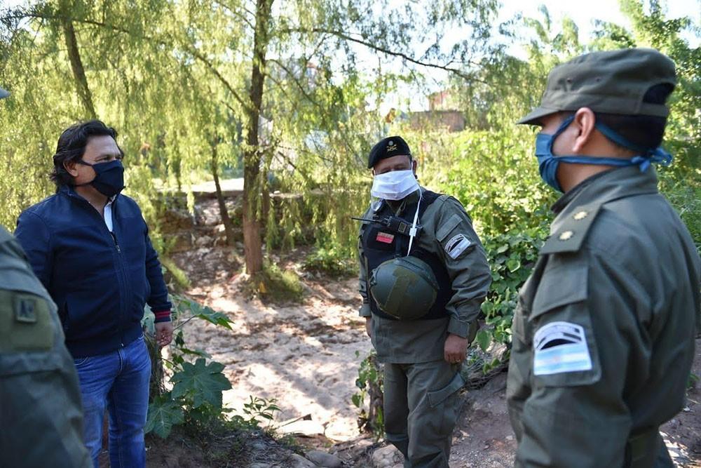 Sáenz: A partir de hoy tendremos presencia del Ejército en la frontera con Bolivia