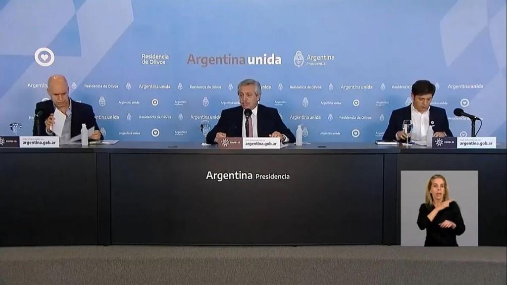 Endurecimiento de la cuarentena en Buenos Aires