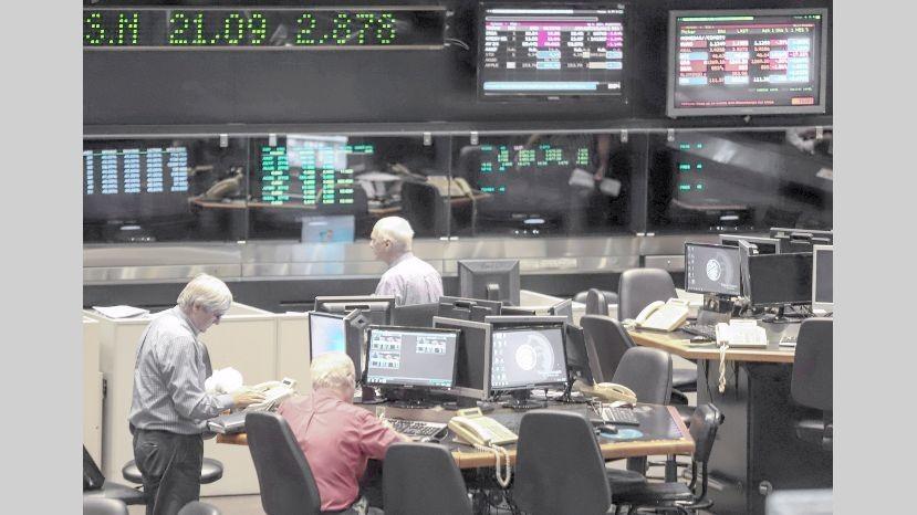 La Bolsa Argentina cerro con fuerte baja