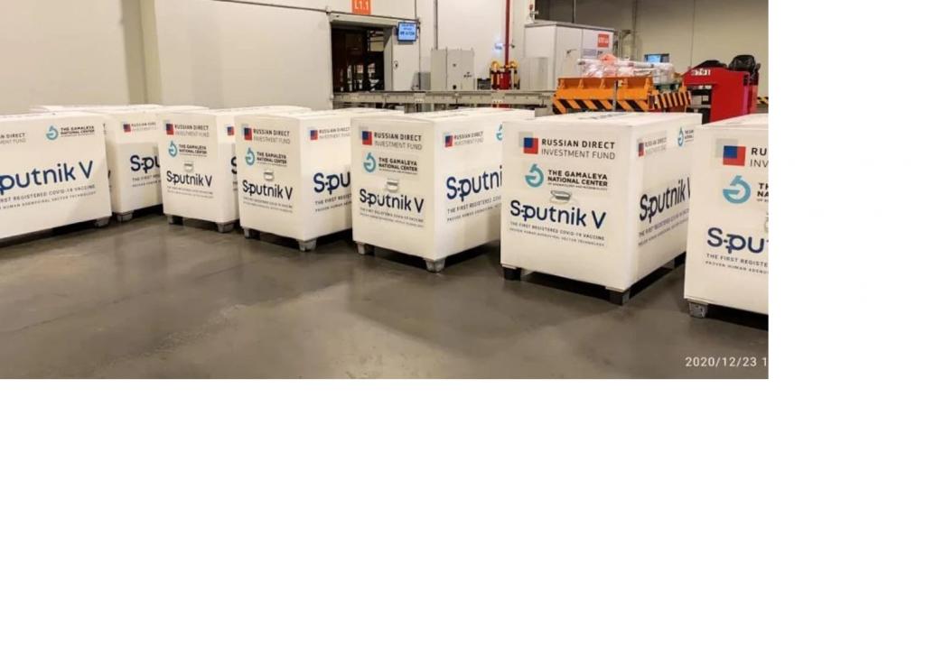 Van a distribuir 400.200 dosis del componente 2 de Sputnik V en todo el país