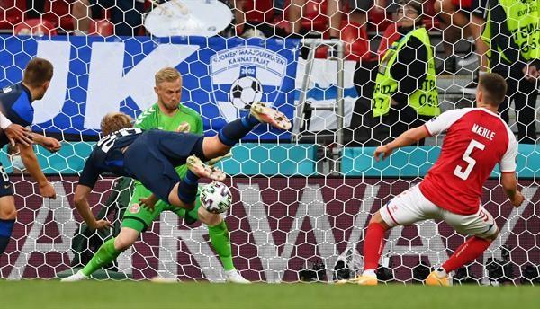 Finlandia venció a Dinamarca en la Eurocopa