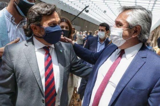 Sáenz y Alberto Fernández en los actos por el Bicentenario del General Güemes