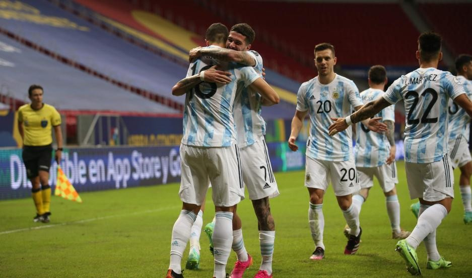 Argentina cosechó su primera victoria en la Copa América
