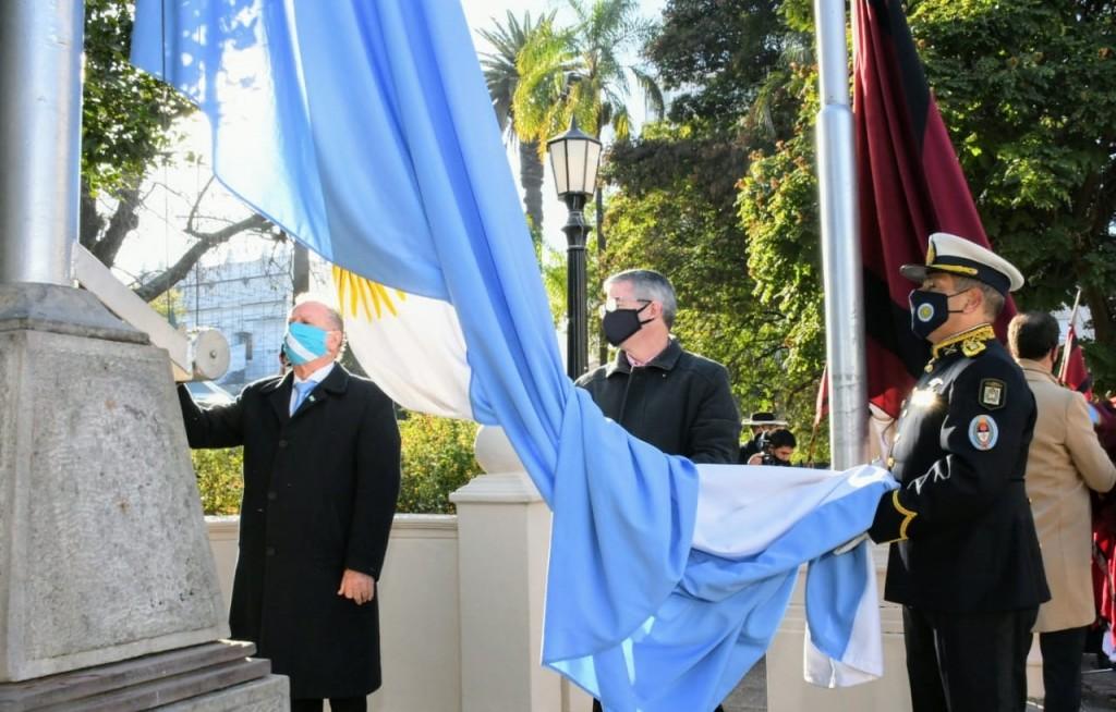 Conmemoraron el Día de la Bandera