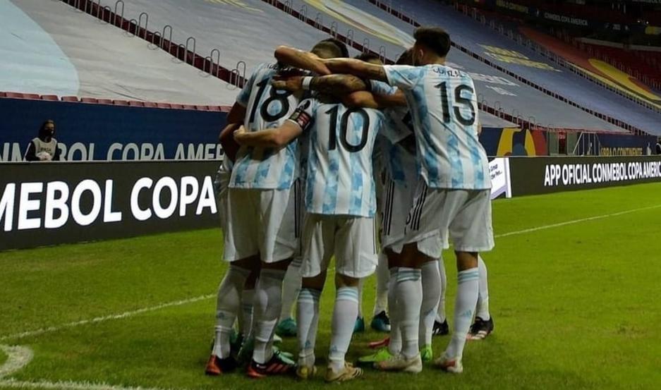 Argentina ganò con lo justo a Paraguay