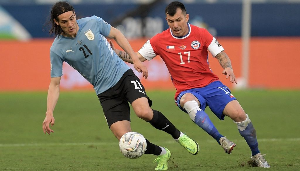 Chile empató con Uruguay por el Grupo A